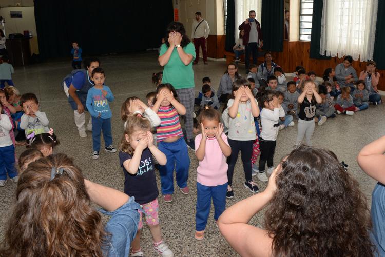 Durante la inauguración se realizó un espectáculo musical