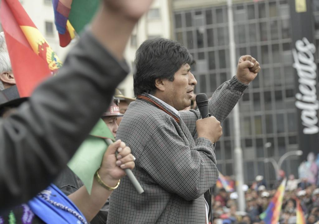 Foto: Twitter / Evo Morales