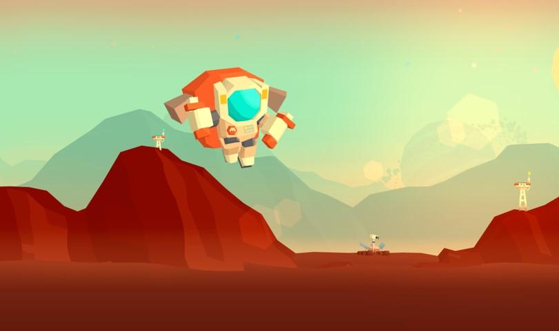 """""""Mars: Mars"""", juego de la empresa uruguaya Pomelo Games"""