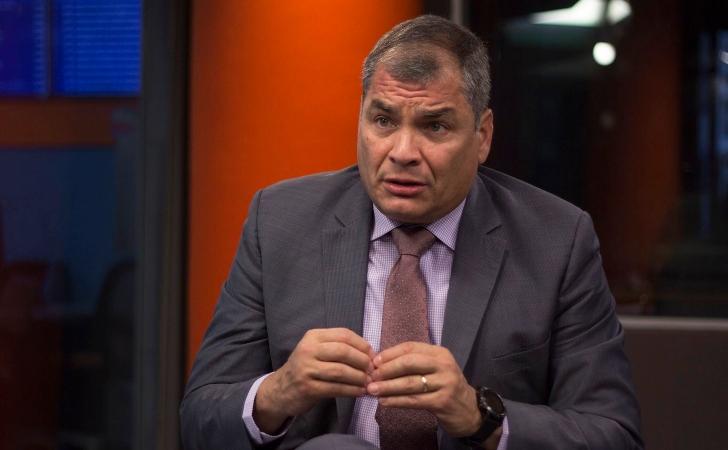 Rafael Correa / Foto: Esteban Andrés Cabrera
