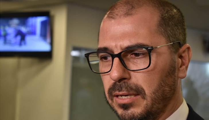 Prosecretario de Presidencia, Juan Andrés Roballo. Foto: Carlos Loria/LARED21.