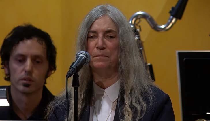 Patti Smith. Visitante Ilustre de Montevideo.