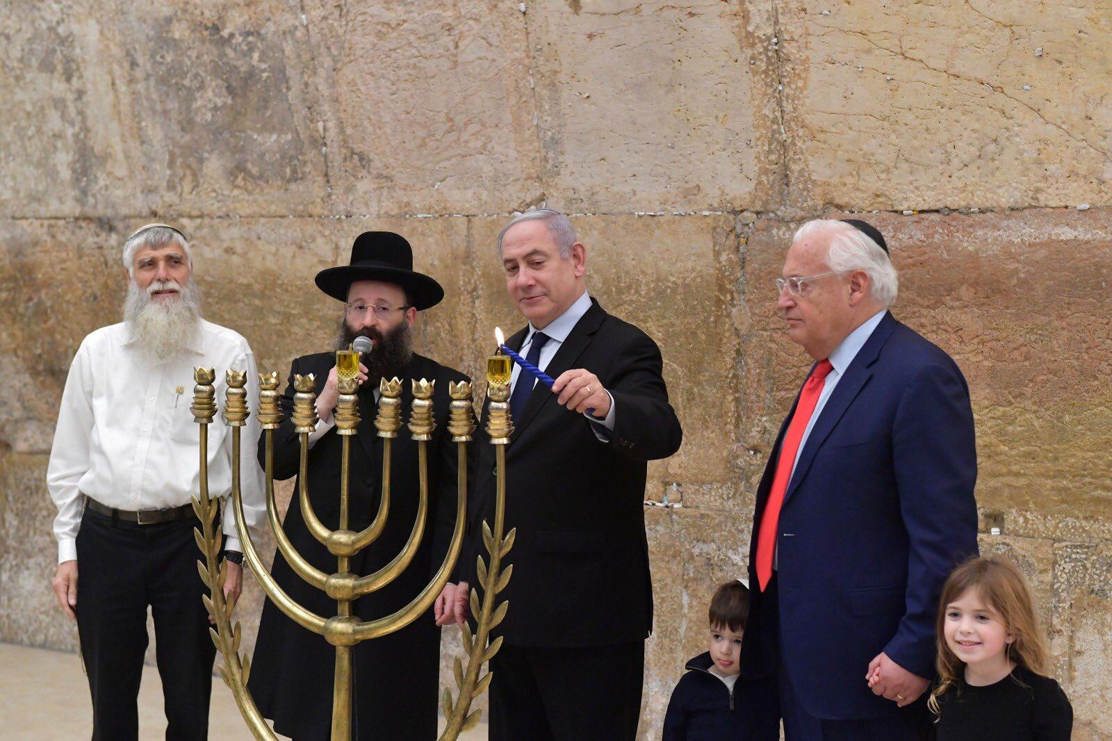 Netanyahu fue evacuado de un acto por un ataque con un misil