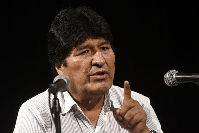 Evo Morales dice que de volver a Bolivia organizaría milicias armadas: medio