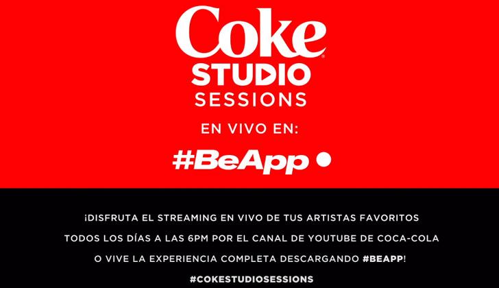 Coca-Cola y #BeApp lanzan Coke Studio Sessions: más de 100 ...