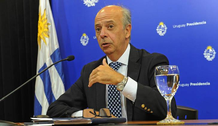 Ministro de Defensa, Javier García. Foto: Presidencia de la República.