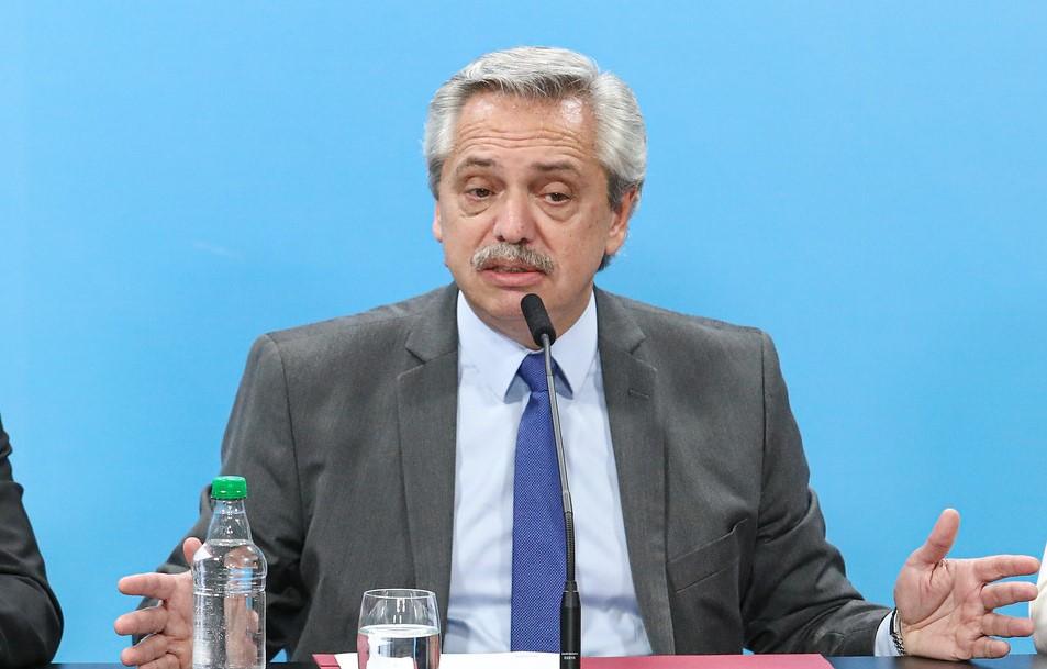 Alberto Fernández, presidente de Argentina. Foto: Presidencia de Argentina