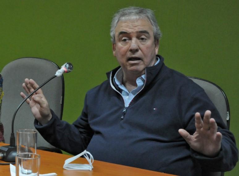 Luis Alberto Heber, ministro de Transporte y Obras Públicas. Foto: Presidencia de la República