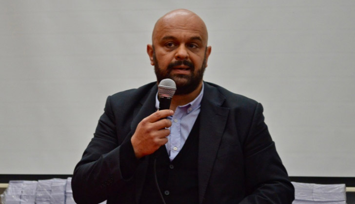 Candidato del Frente Amplio al Municipio B, Mauricio Guarinoni.