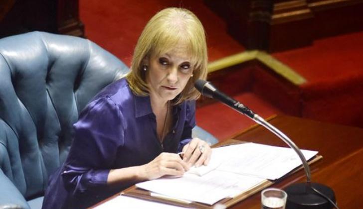 Cosse renunció al Senado para asumir como intendenta de Montevideo. Foto: Frente Amplio/Twitter.