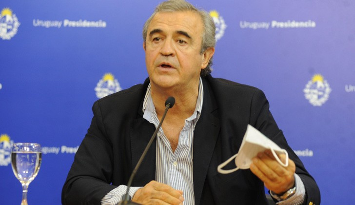 Ministro del Interior, Jorge Larrañaga.