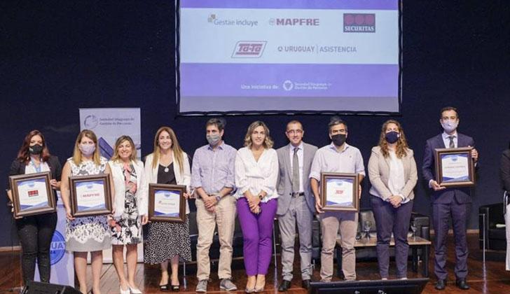 La Sociedad Uruguaya de Gestión de Personas reconoció por primera vez en nuestro país a organizaciones que promueven la inclusión laboral.