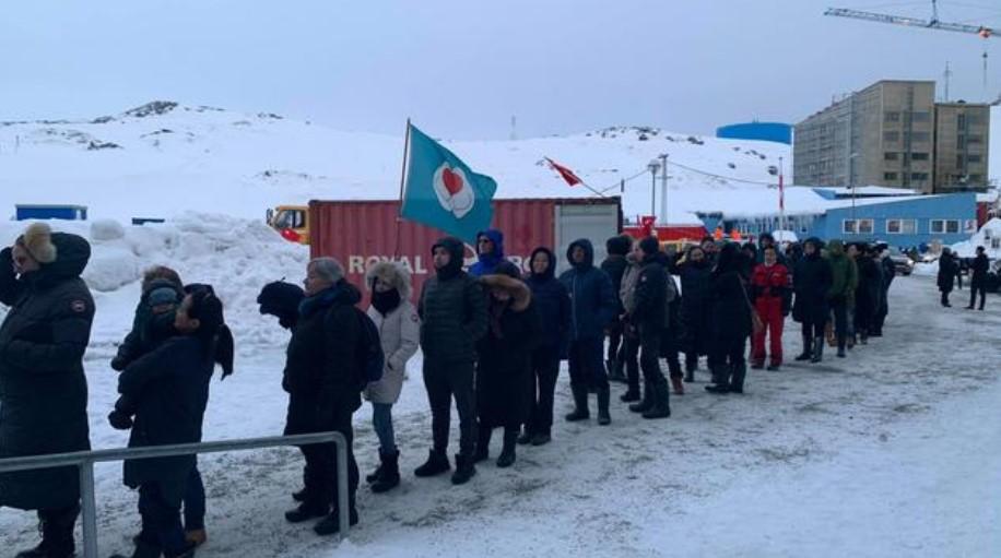 La participación de la ciudadanía en las elecciones de Groenlandia fue la más baja de su historia. Foto: KNR