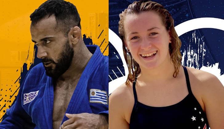 Debutaron en los Juegos Olímpicos: Mikael Aprahamian (judo) y Nicole Frank (natación)