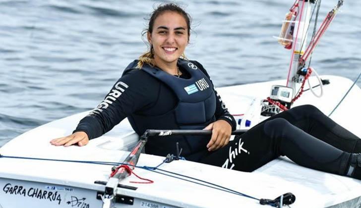 Dolores Moreira finalizó sus dos regatas diarias ubicándose por el momento en el puesto 22